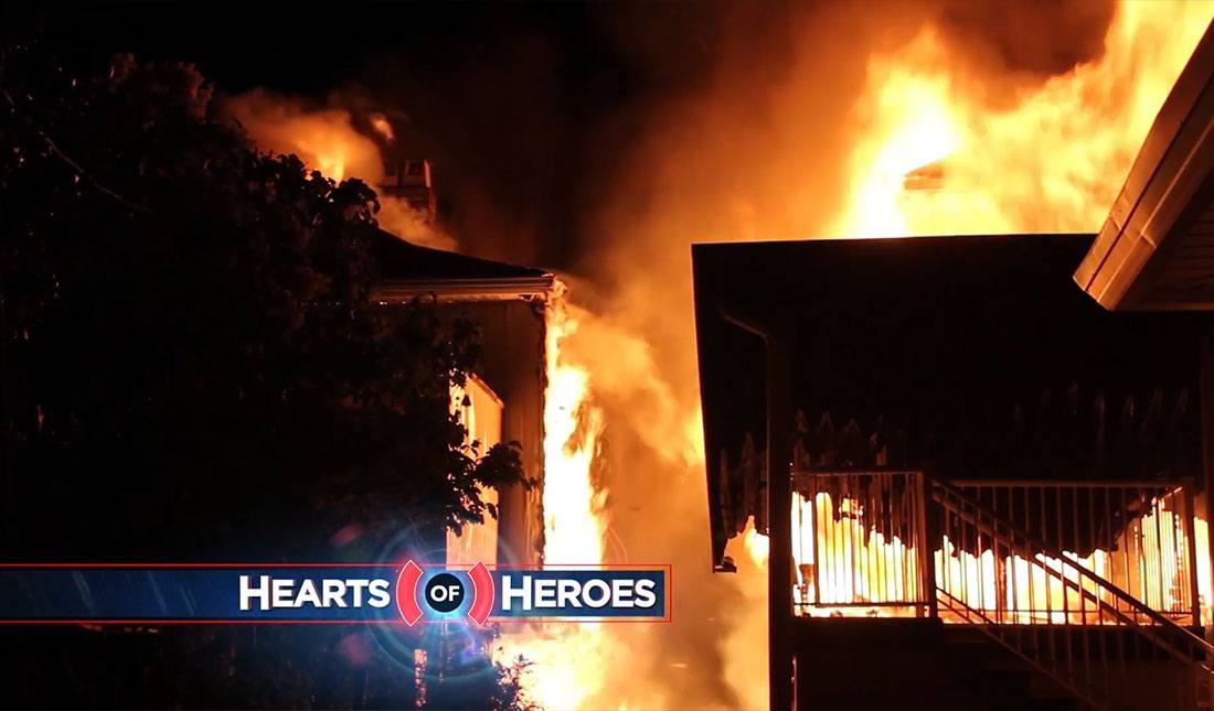 A mother and son are trapped, with fire sweeping through their apartment complex. And first responders rush in to help. Then, rescuers race to help those stranded in a white-out of catastrophic proportions. These stories and more on Hearts of Heroes Season 2 Episode 1 – Firsthand First Responders!
